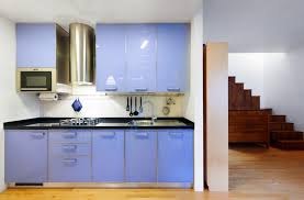 blue cabinets in kitchen gloss and matte lacquered kitchen cabinet doors gallery