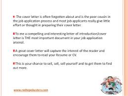 is cover letter important 3 a is cover letter important