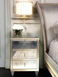 Glass Mirrored Bedroom Set Furniture Glass Mirror Night Stands 88 Nice Decorating With Master Bedroom