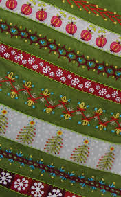 ribbon and embroidery christmas stocking inspirations u2026 stitch by