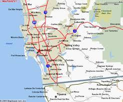 california map carlsbad diego county california maps