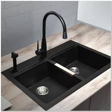 black kitchen sink faucets kitchen inspiring black kitchen sink lowes hi res wallpaper images