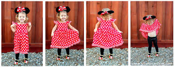 Mickey Minnie Mouse Halloween Costumes Toddlers Homemade Minnie Mouse Costume Gluesticks