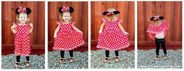Minnie Mouse Halloween Costume Diy Homemade Minnie Mouse Costume Gluesticks