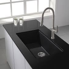 Faucet Kitchen Sink by Best 20 Granite Kitchen Sinks Ideas On Pinterest Kitchen Sink