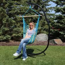 c frame hammock chair stand