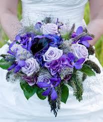 purple and blue flowers beautiful arrangements of blue and purple wedding flowers ipunya