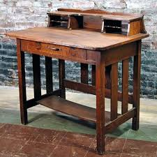 antique style writing desk craftsman style desk mission style writing desk probably antique