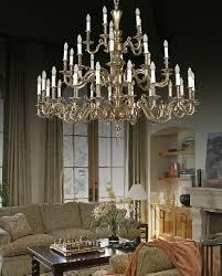 House Chandelier Solid Brass Big Chandelier Lighting In Luxury House Ichandeliermall