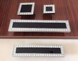 online get cheap black crystal cabinet knobs aliexpress com