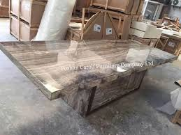 8 seater luxury marble dining table set from china