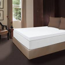 Bed Frame For Memory Foam Mattress Therapy 4 Inch Memory Foam Mattress Topper