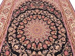 Antique Persian Rugs by Signed Vintage Persian Isfahan 7 X 10 Area Rug 14143