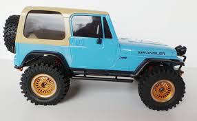 jeep yj rock crawler scale truck kit 2016 mex jeep yj offroad blue classic k44