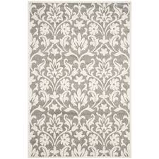 Ebay Outdoor Rugs Safavieh Amherst Grey Indoor Outdoor Rug 4 X 6