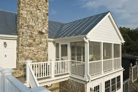 aluminum metal porch roof porch farmhouse with bronze outdoor wall