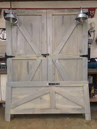 barn door bed frame image collections doors design ideas