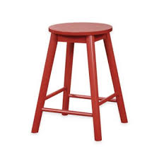 buy red wood stools from bed bath u0026 beyond