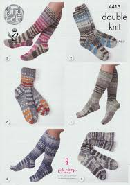 socks in king cole drifter double knit 4415 u2013 deramores