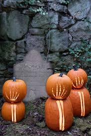 50 seriously spooky pumpkin carving ideas skeleton pumpkin