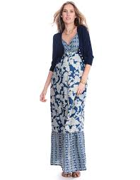 navy blue cropped maternity cardigan seraphine