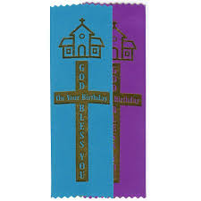 birthday ribbons ribbons bless prayer pkg of 10
