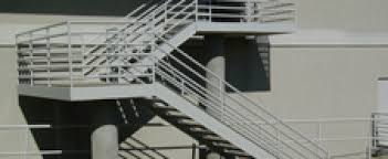 texas electrostatic painting metal staircase