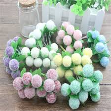2 bundle lovely foam artificial flowers for home wedding