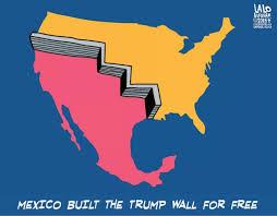 Mexico Wall Map Enterprise Architecture Building Trumps Wall Matthew Kern Cea