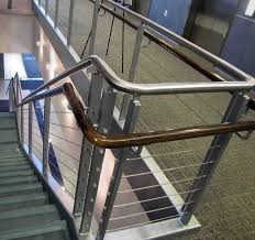 Stainless Steel Banister Rail Create Unique Metal Handrailings With Metal