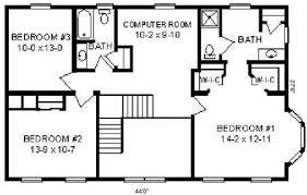 2500 Sq Foot House Plans Floor Plan Detail Hallmark Modular Homes