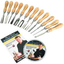 Wood Carving Tools Beginners Set by Wood Carving Tools Whittling Knives Chissels Hand Tools