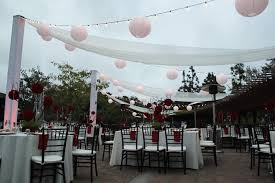 lighting for an outdoor reception no tent no trees wedding