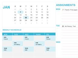 student calendar this 12 month student focused calendar template