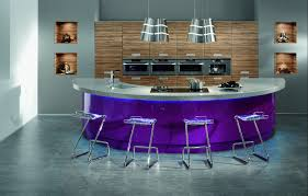 unusual design purple kitchen ideas come with dark brown and white