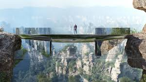 dare you cross china u0027s new glass bottomed suspension bridge