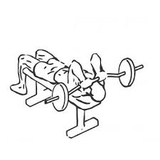 Tricep Close Grip Bench Press Lying Close Grip Triceps Press To Chin Gymwolf