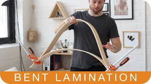 how to make a chair episode 8 bent lamination youtube