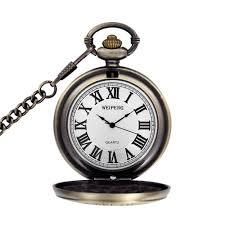 Grandpa Clock Aliexpress Com Buy Fashion Men Roman Numerals Pocket Watch