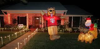 Christmas Lights Texas Christmas Lights In Texas Are Bigger Naturally Houston Chronicle
