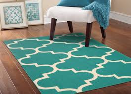 Brown And Turquoise Area Rugs Garland Rug Large Quatrefoil Teal Ivory Area Rug U0026 Reviews Wayfair