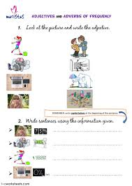 adjectives and adverbs interactive worksheet