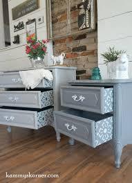 Used White French Provincial Bedroom Furniture Kammy U0027s Korner Delightful Details French Provincial Nightstands