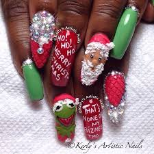 23 best kerly u0027s artistic nails christmas nail art designs images