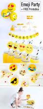 emoji party free emoji printables lillian hope designs