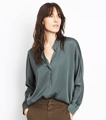 silk blouses tips for styling a silk blouse whowhatwear