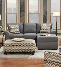 affordable furniture cosmopolitan grey sectional sofa 3900 savvy