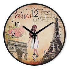 online buy wholesale eiffel tower wall clock from china eiffel