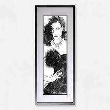 shh interiors framed art 44cm x 100cm framed art wall art home