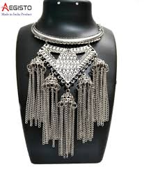 Buy Tribal German Silver Jhumka Online Shopping Handicraft Jewelry Home Decor Store Buy